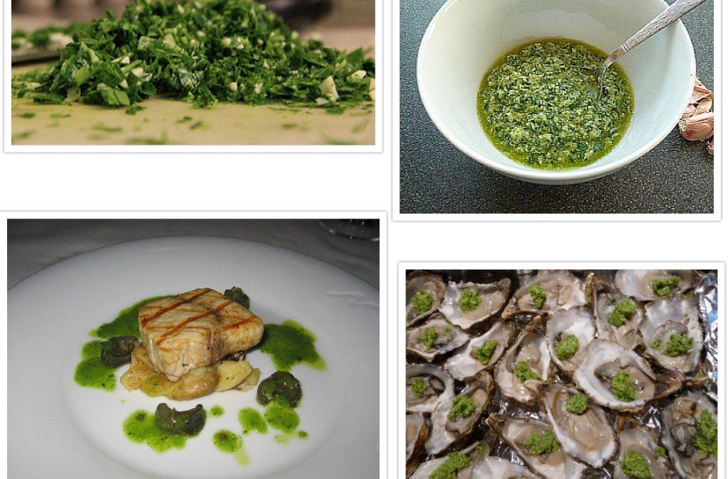 Términos de cocina: persilada